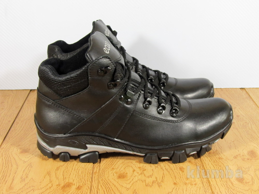 Мужские зимние ботинки, кроссовки, кожа, высокий протектор, высокое  качество фото №1 4ee904791fb