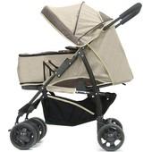 Детская коляска трансформер Kinder Rich Shark Flax (лен)
