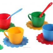Ромашка 12 элементов 4 персоны чайный сервиз посуда Тигрес 39081