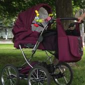 коляска универсальная 2 в 1 Teutonia elegance
