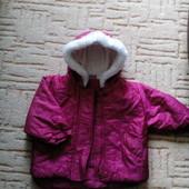 Куртка для девочки осень-зима
