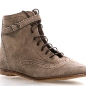 Ботинки замшевые Stradivarius 36-37 размер. Новые.