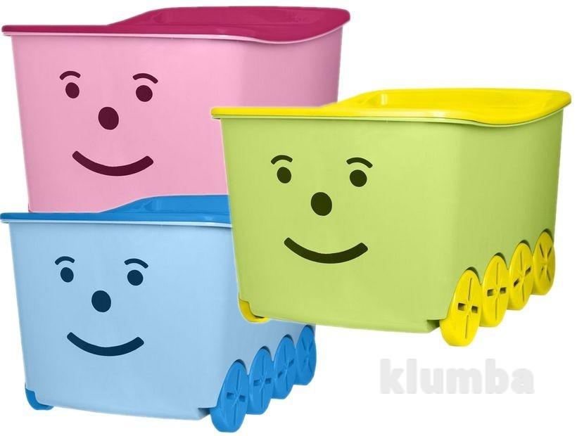 301b2f77b3b4 Ящик для игрушек tega play 52l bq-005, цена 485 грн - купить Крупные ...