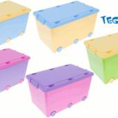 Ящик для игрушек Tega Chomik IK-008 (цвета в ассортименте )