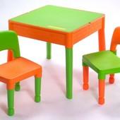 Комплект детской мебели Tega стол+2 стула MT-003