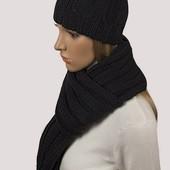 комплект шарф+шапка теплые