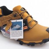 Кожаные зимние мужские ботинки Польша