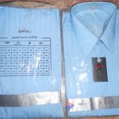 Новая- мужская рубашка 41 и 43р