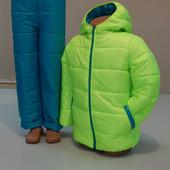 Зимний костюм на  116, 122, 128 Бесплатная доставка НП и укрпочтой