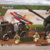 Конструктор Brick 812 Ракетная установка.