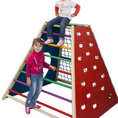 Детский спортивный комплекс для улицы и дома «Пирамида»