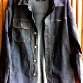Фирменная джинсовая рубашка Kappa