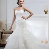 Свадебное платье от Alexander Medynski цвета ivory