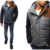 Мужская зимняя  молодежная куртка
