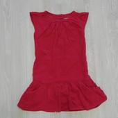 Яркое вельветовое платье Next для девочки, размер 1.5-2 года, состояние новой вещи.