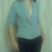 Мягкий катоновый пиджак Zara