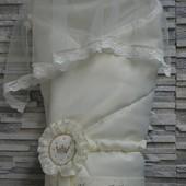 Зимний конверт одеяло для новорожденного