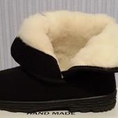 Мужские зимние бурки (угги) натуральный мех тёплые