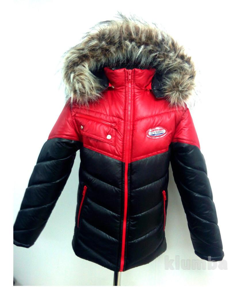 модные куртки зимние для подростков 7 16 лет цена 805 грн купить