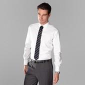 Рубашка классика с галстуком  ворот 41/42 L Tchibo Германия