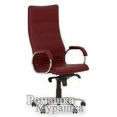 Офисное кресло для руководителя Allegro steel chrome Eсо [искусственная кожа ECO]