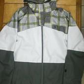 Чоловіча куртка для сноуборда Oxbow L XL Rueun green lemon