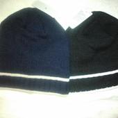шапки на флисе мужские-подростковые-унисекс, новые без бирки