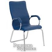 Офисное кресло конференционное Allegro Cfa Lb steel chrome Le [кожа Lux]