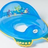 Детская сидение-накладка на унитаз антискользящая Tega Aqua AQ-008 (цвета в аасортименте)
