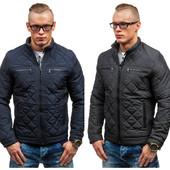 осенняя мужская стеганая куртка