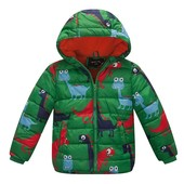 Курточка с динозавриками
