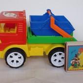 Машинка грузовичок(мусоровоз)