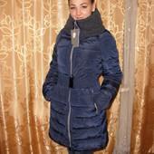 распродажа.Тёплая красивая куртка Monte Cervino,воротник-стойка р.ХЛ!подойдёт и на л