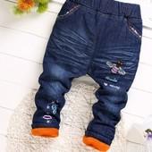 Теплые джинсы для девочек.Разные, джинсы зима на синтепоне