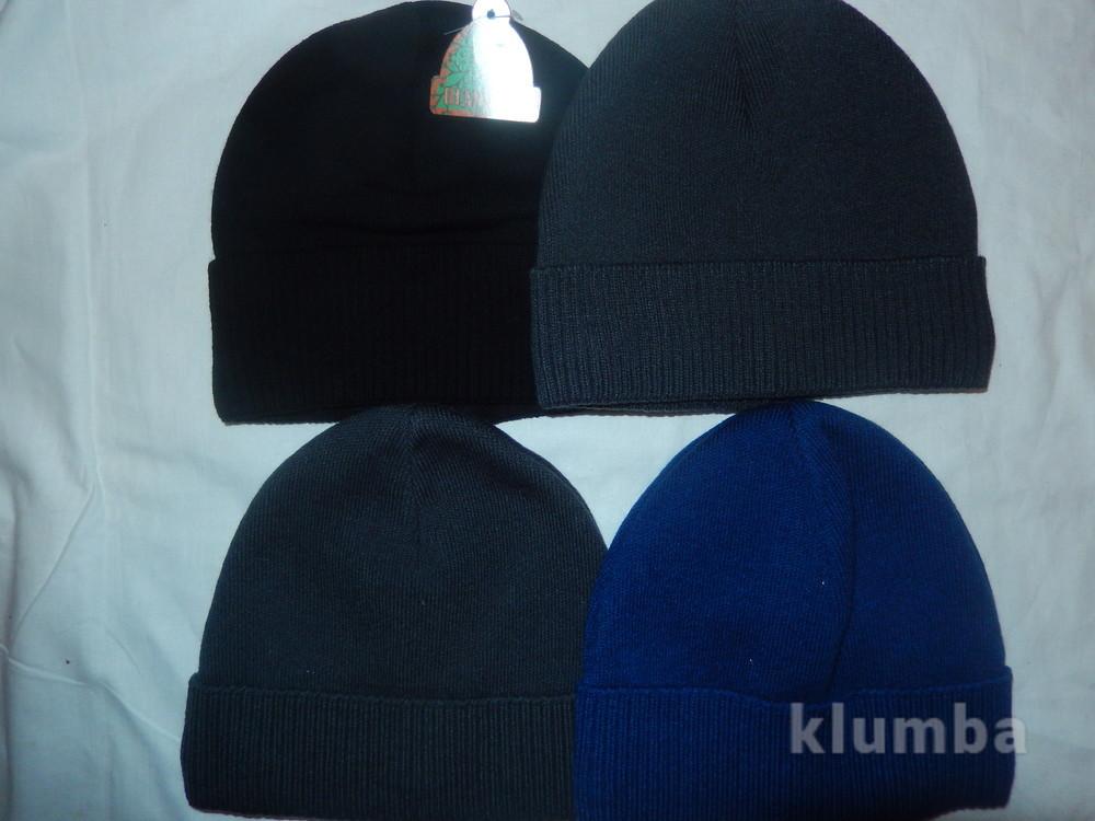 Новые мужские шапки с аккуратненьким подворотиком на голову54-58,на флисе фото №2