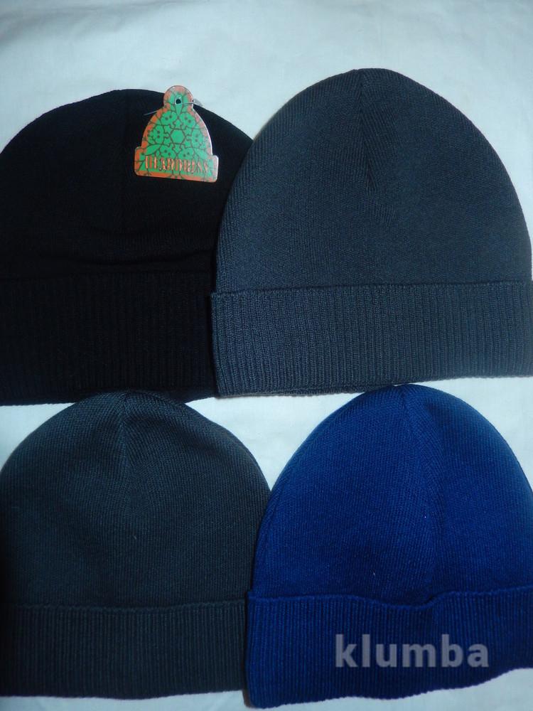 Новые мужские шапки с аккуратненьким подворотиком на голову54-58,на флисе фото №1
