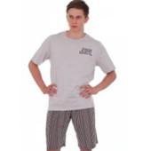 Мужские комплекты футболка и шорты для дома и отдыха разные цвета