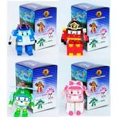 Персонажи из мультфильма робокар поли, эмбер, хэлли, рой, марк, баки