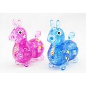 Пазлы 3D 9030 ослик, 2 цвета, 49 дет, в кор-ке, 18-13-7,5см