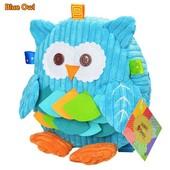 Детский рюкзак -игрушка голубая сова