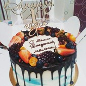 Именная шпашка/ украшение для торта с именем и датой