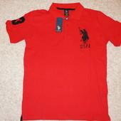 Брендовые Мужские Поло US Polo разных цветов