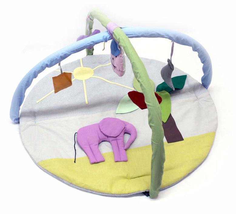Развивающий коврик слоник фото №1