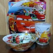 Детский набор посуды 3 предмета. Цена 115грн.