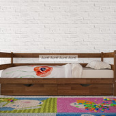 Кровать буковая Амели тмАурель, натуральное дерево, массив