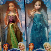 Анна и Эльза Фрозен ледяное сердце куколки размер Барби