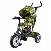 Тилли Камуфляж 2016 T-351-8 детский трехколесный велосипед Tilly Trike