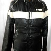 Теплый 100% пуховик, куртка из Италии Crust р. 44-46 наш