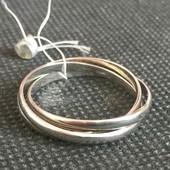 Новое красивое серебряное кольцо Серебро 925 пробы.