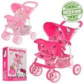 Прогулочная коляска для кукол Hello Kitty